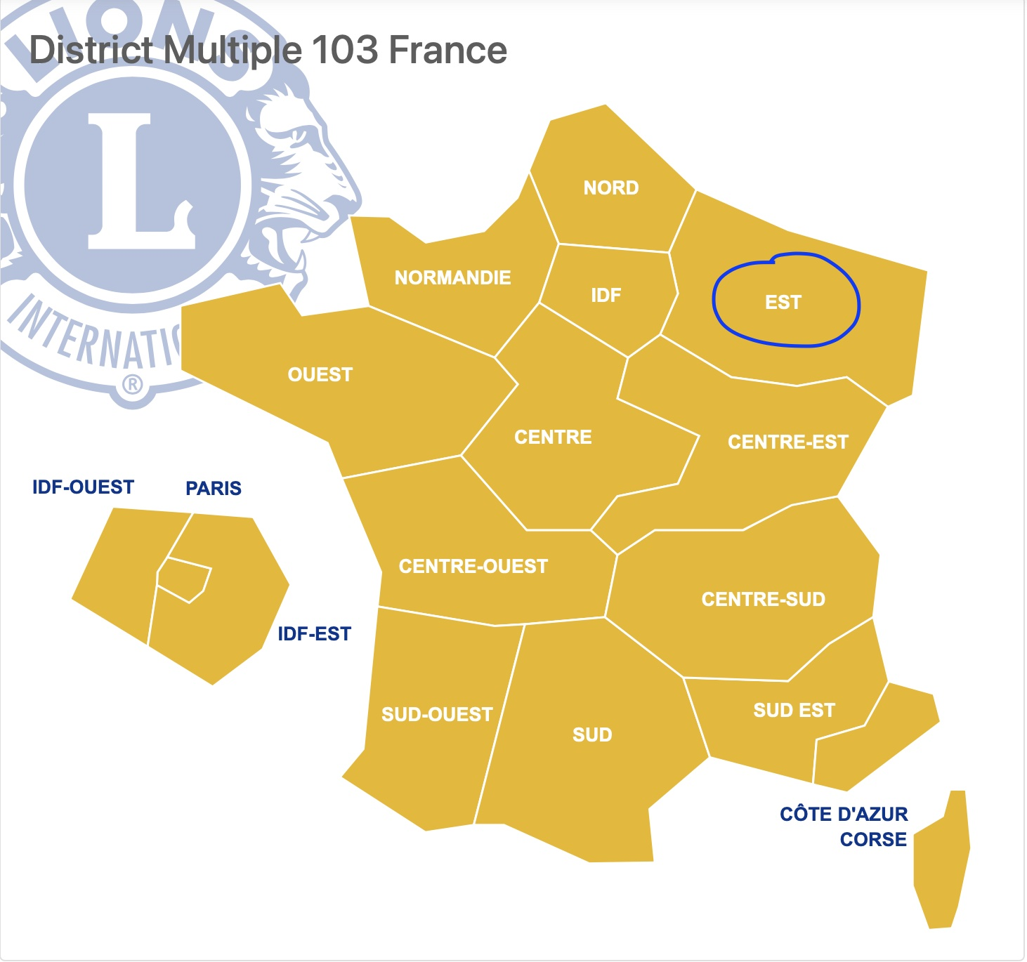 District EST