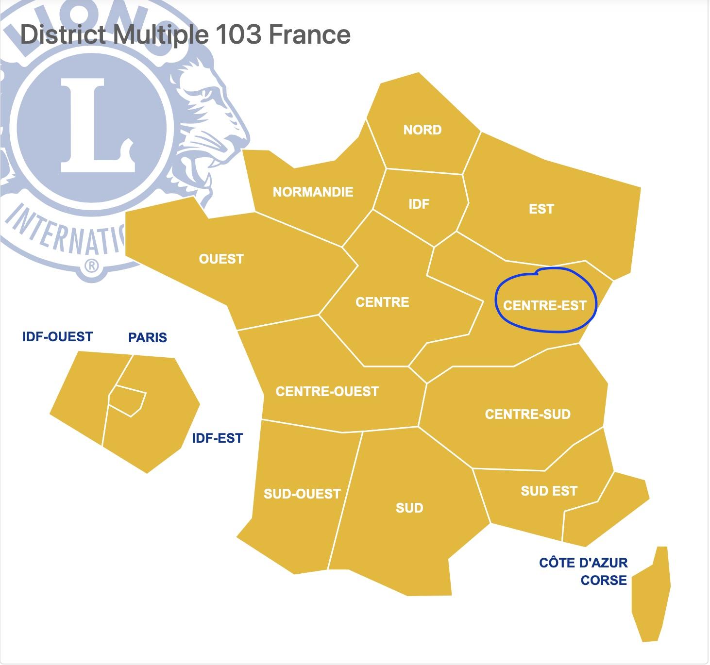 District CENTRE-EST